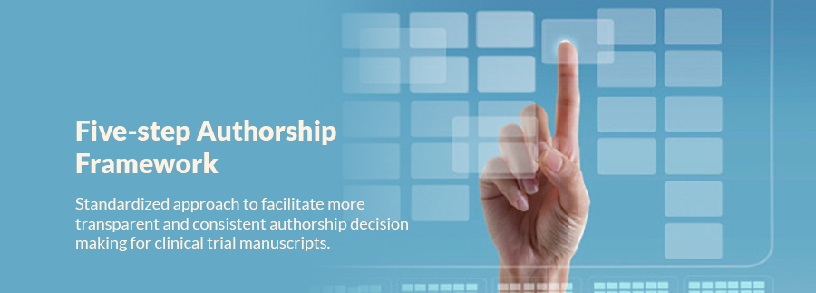 Five Step Authorship Framework